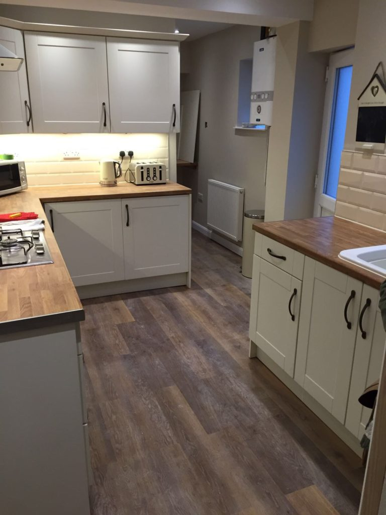 Karndean Kitchen Flooring Kitchen Installation Cannock Bathrooms